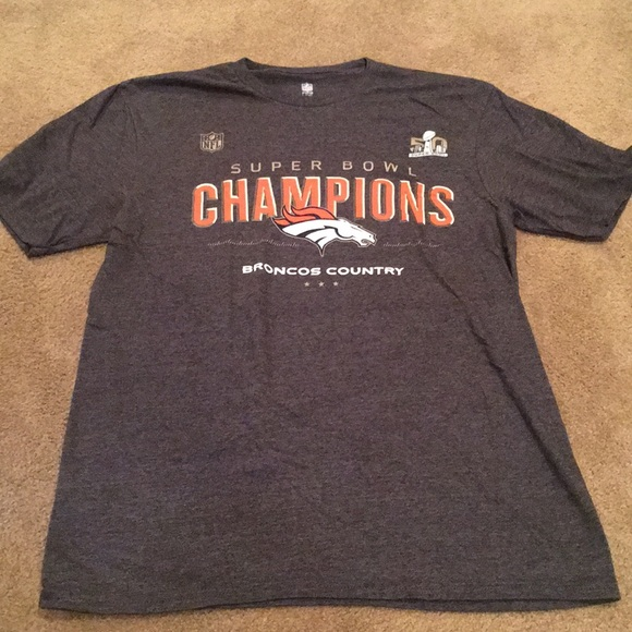 22ec400c Denver Broncos Super Bowl 50 Champions Shirt